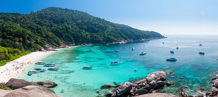 Visiter le sud de la Thailande pour profiter de la mer Andaman